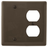Standard Wall Plate -- NP138BK - Image