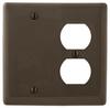 Standard Wall Plate -- NP138BK - Image