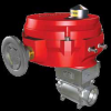 Stainless Steel Industrial Ball Valves with NEMA 4X Actuator -- BV Series - Image