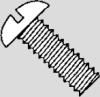 Round Head Machine Screws - Stainless Steel -- RMS0012