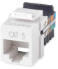 Jack,Ivory,Cat5,Rj45 -- 5LR72