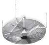 Ceiling Fan Guard,61 in. Dia.,Chrome -- 2JFX8