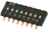 Switch, DIP, HALF PITCH, 2 SECTIONS -- 70216680 - Image