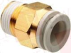 SMC KQ2H16-04S ( FITTING, MALE CONNECTOR, LQA, 16MM, ) -Image