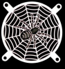 80mm Black Spider Fan Grill -- 16422
