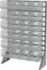 Rack, Rail Rack, 1-Sided w/ 24 30240SCLAR -- 30008240SC