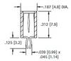 Vertical PCB Test Jacks -- 6043 -Image