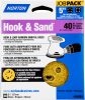 Norton Hook & Sand AO Coarse Grit Paper H&L Vacuum Disc -- 07660704064 -Image