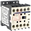 CONTACTOR, MINIATURE, UP TO 5 HP AT 575/600 VAC 3-PH., 24 VDC CTRL., 1 NO AUX. -- 70007254 - Image