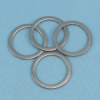 Precision 303 Stainless Steel Outer Race Ball Bearing Shims -- BS5-10A - Image