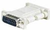 DB15 pin plug to plug computer adapter -- DB15P-P