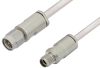 3.5mm Male to 3.5mm Female Cable 60 Inch Length Using PE-SR402FL Coax -- PE35121-60 -Image