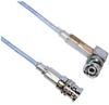 3-SLOT FULL CRIMP PLUG TO R/A PLUG M17/176 TWINAX, 36 INCH CABLE LENGTH -- MP-2166-36 -Image