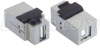 Shielded USB Keystone Style Coupler (A Female /B Female) -- UADKEY-AB