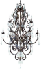 13512-RG/GL Large Chandeliers-Candle -- 712302