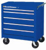 "APEX TOOLS 83123RD ( 27"" 5 DRAWER TEP SERIESRED ROLLER CABINET ) -- View Larger Image"