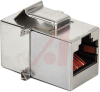 connector,modular,8p8c shielded modularcoupler,snap-in -- 70000366