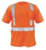 Short Sleeve T-Shirt,2XL,Orange -- 3ZEG1