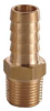 Hose Barb,3/16 In,1/4 MNPT,Brass -- 6AFP6 - Image