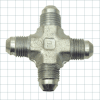 37° Flare Hydraulic Fitting -- Cross Fittings - Image