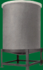 FRP Encased Cone Bottom Tank -- TC1113C - Image