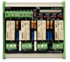 ZIPLINK FOUR RELAY MODULE, 120VAC LED INDICATION -- ZL-RLS4-120 -- View Larger Image