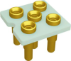 Relay Sockets, Solder Dip/5 Pin -- FSE1A-5P-AL33 - Image
