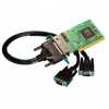 2 Port RS232 Low Profile PCI Serial Port Card -- UC-253 -- View Larger Image