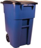 Brute Rubbermaid 9W2700BL 50 gal Rollout Containers -- 9W2700BLRM