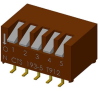 DIP Switches -- 193-5MSN-ND - Image