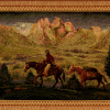 Crossing Frieze Tapestry Fabric -- R8906 -- View Larger Image