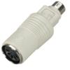 Mini DIN Adapter, 5-Pin DIN Female to 6-Pin Mini DIN Male -- FA211-R2