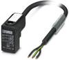 Sensor/Actuator cable - SAC-3P- 3,0-PUR/C-1L-V - 1443239 -- 1443239