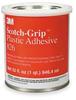 Plastic Adhesive,1 Quart,Amber -- 2RUE6