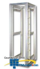 Chatsworth Products MegaFrame M-Series Cabinet, Frame Only -- M1235 -- View Larger Image