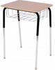 Adj. Desk with Book Basket 772BB
