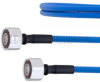 Low PIM 4.1/9.5 Mini DIN Male to 4.1/9.5 Mini DIN Male Plenum Cable SPP-250-LLPL Coax in 100 CM and RoHS -- FMCA1318-100CM