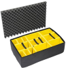 Pelican 1655 Yellow Padded Divider Set for 1650 Case -- PEL-016500-4050-000 -Image