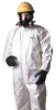 Hooded Coverall,White,2XL,PK6 -- 4LUH8