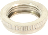 Carling Technologies 380-08810 Dress Face Nut, Knurled Nickel, 15/32