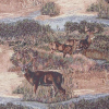 Deer Scenic Fabric -- RH-Field Dreams -- View Larger Image