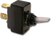 Carling LT-1511-110-012 Clear Nylon Lighted Toggle Switch, 15A, SPST, On-Off -- 44206 - Image