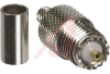connector,rf coaxial,mini-uhf 3-piece crimp jack,for rg/u 58 cable -- 70081220