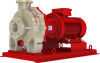 Closed Coupled Fiberglass Centrifugal Pumps -- CFM Series - Vitrium Line - Image