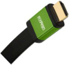 Elementhz 4 meter (13.12ft) HDMI Cable, Flat Jacket, Green End -- ELE6004M