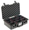 Pelican 1485 Air Case with TrekPak Dividers - Black | SPECIAL PRICE IN CART -- PEL-014850-0050-110 -Image