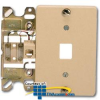 Suttle 4-Conductor Wallplate with Screw Terminals &.. -- 630AC4