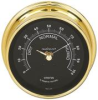 Humidity Instrument - Stratus, PVD Brass case, Black dial
