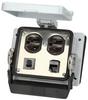 Panel interface connector Mencom DP-RJ45-R-32