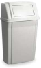 Profile Waste Container,15 G,Beige -- 5W769